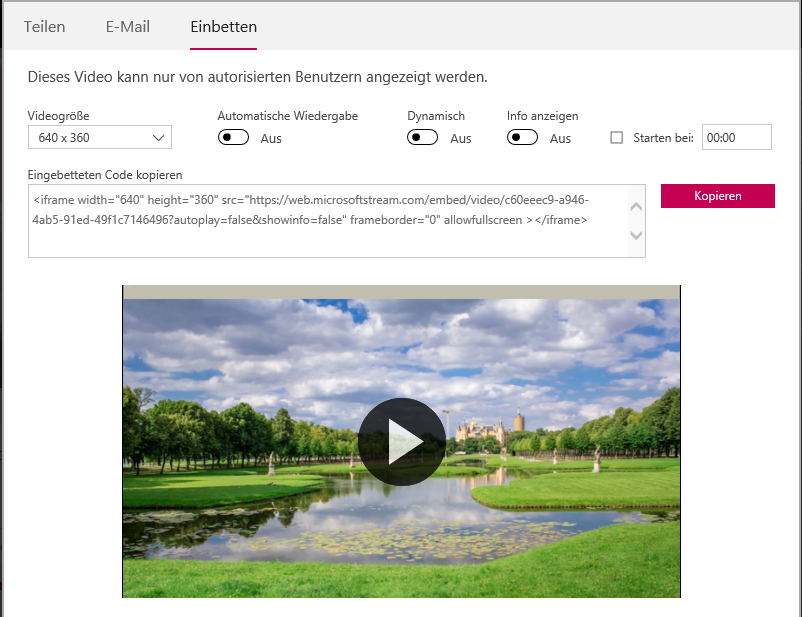 How can Microsoft Stream become a true Video Management Tool