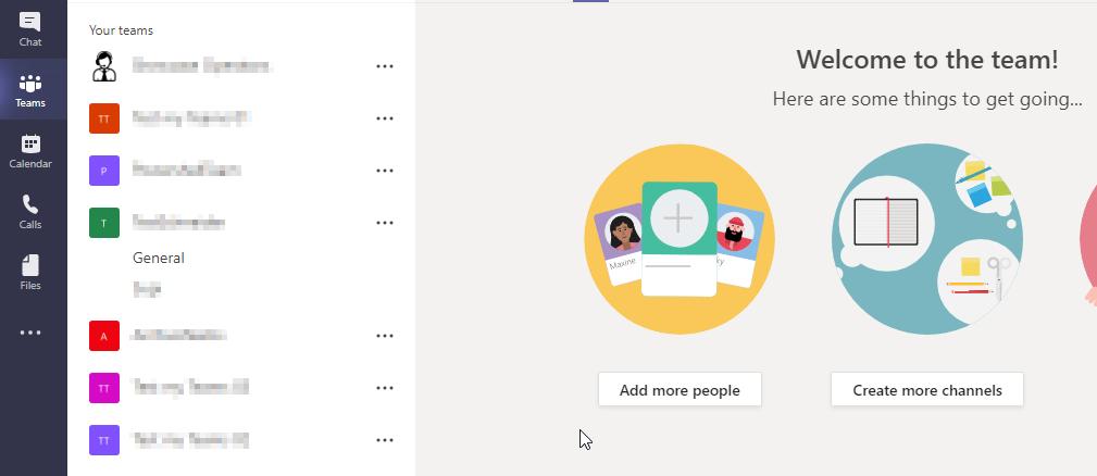 Microsoft Teams Creation