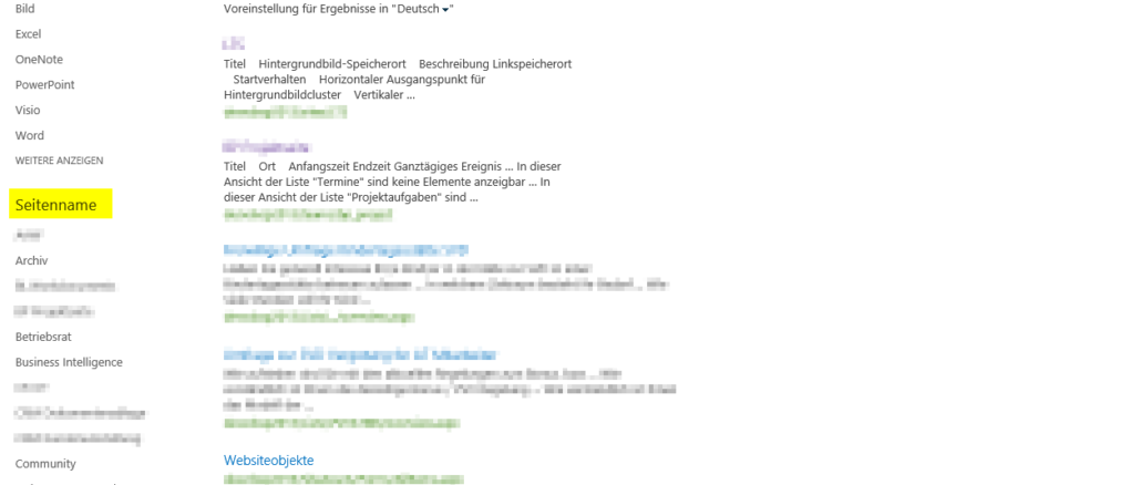 SharePointSearchResult